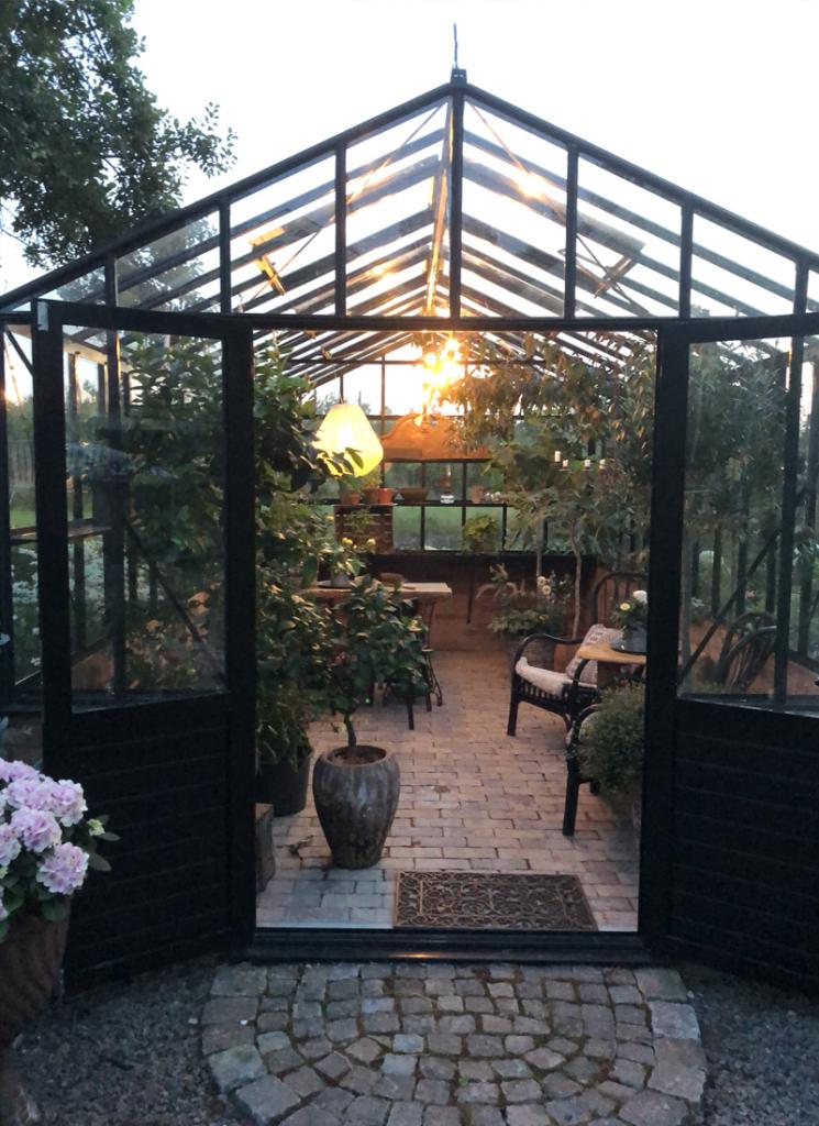 Drivhuset – et rom for alle årstider.