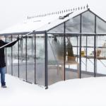 Tåler drivhuset tyngden av snøen?